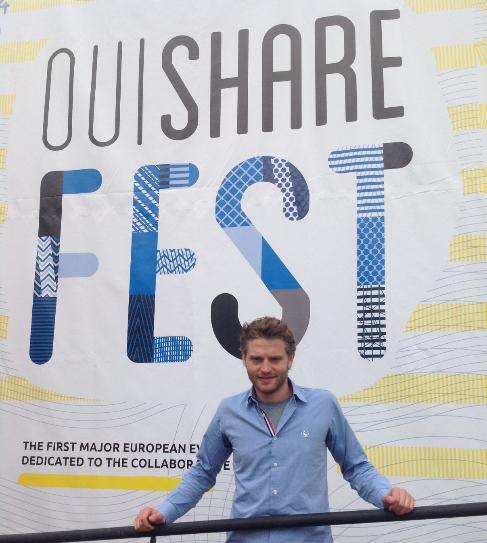 El francés Antonin Léonard (28 años) es el fundador de OuiShare.
