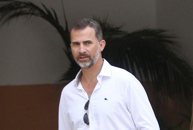 El Rey Felipe VI, el verano pasado en Palma de Mallorca.