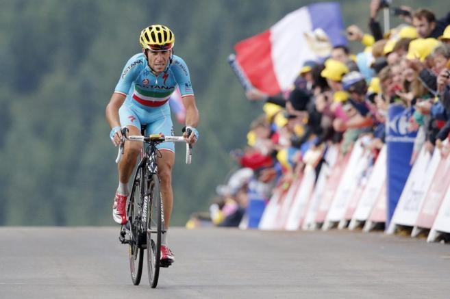 Vincenzo Nibali es el gran triunfador de la 10º etapa. Victoria y...