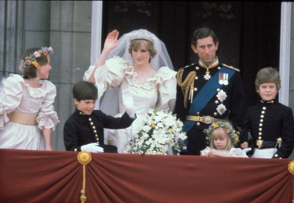 las famosas peor vestidas el día de su boda - diana de gales. cuando
