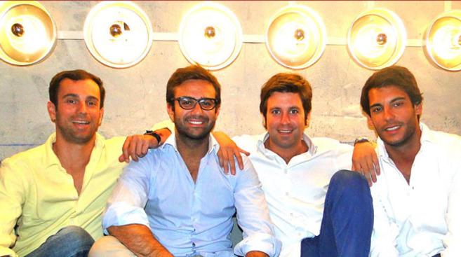 Los cuatro socios fundadores de la 'startup' de moda...