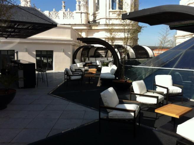 Terraza Ayuntamiento De Madrid Cibeles