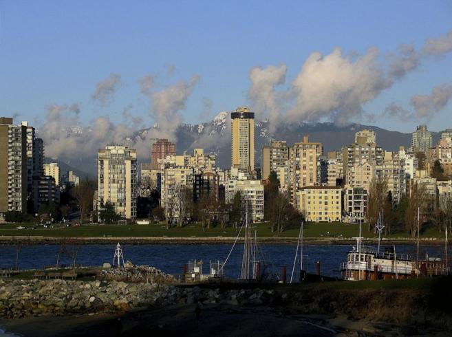 Imagen de la ciudad canadiense de Vancouver.