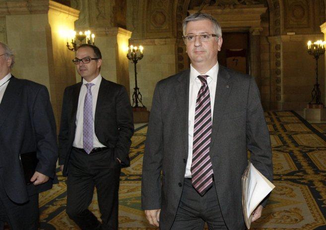 Xavier Martorell en el Parlament de Catalunya en una imagen de...