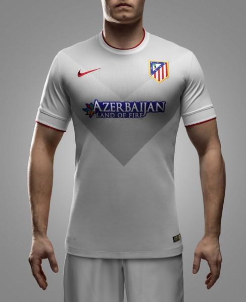 La segunda equipación del Atlético de Madrid.
