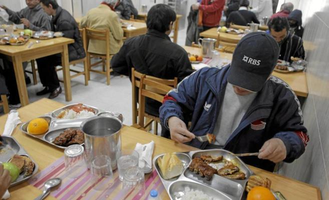 Comedor social Catalina Laboure, de las Hermanas de la Caridad.