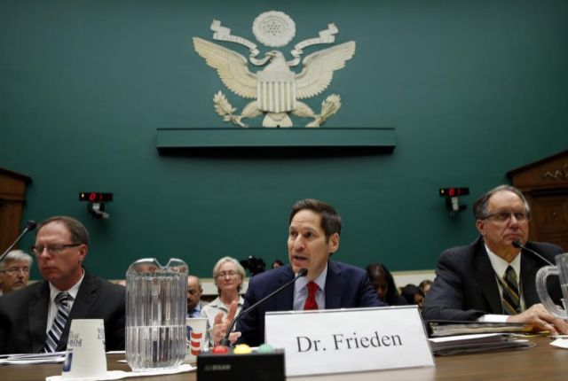 Tom Frieden, director de los CDC, durante su comparecencia para...
