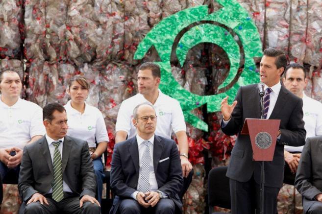 Discurso de Peña Nieto durante la inauguración de la ampliación de...