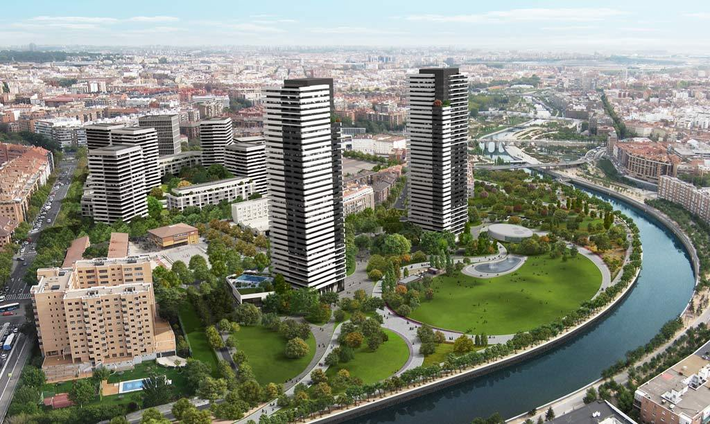 Recreación de cómo será el futuro ámbito Mahou-Calderón, un...