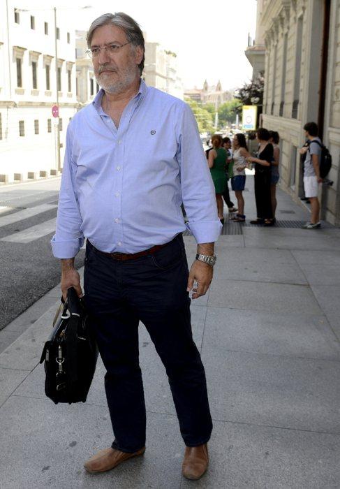 Pérez Tapias, a la salida de su reunión con Pedro Sánchez el pasado...