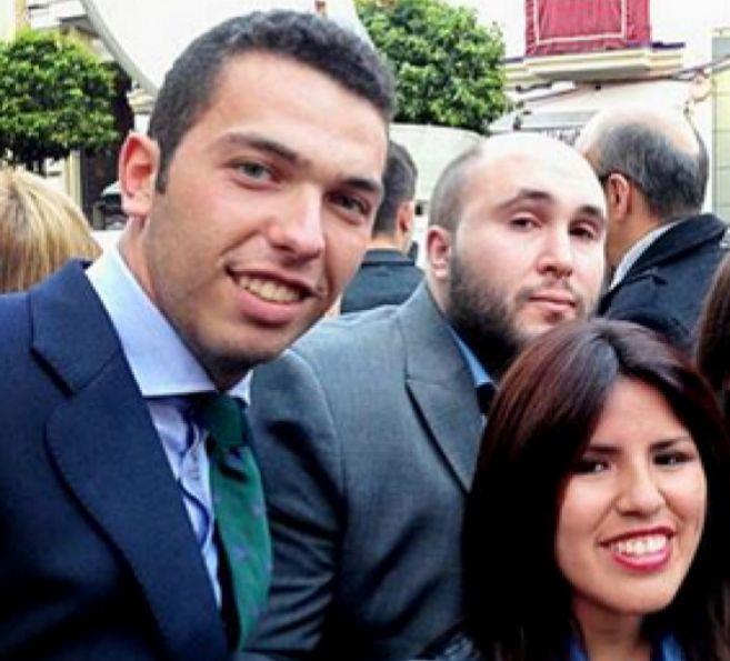 Alberto Isla (izqda), Kiko Rivera y Chabelita Pantoja cuando estaban...