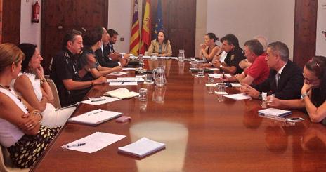 Imagen de la reunión de ayer del grupo de trabajo del Consejo Asesor...