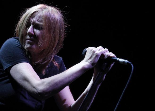 """La cantante de la banda británica """"Portishead"""", Beth..."""