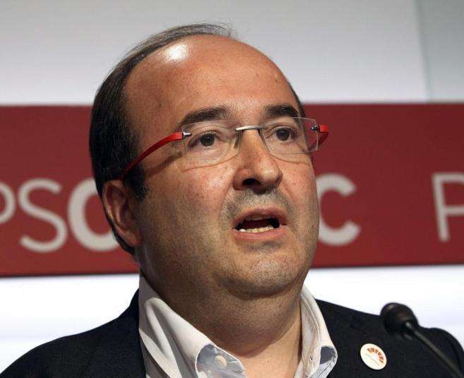 El nuevo líder del PSC, Miquel Iceta.