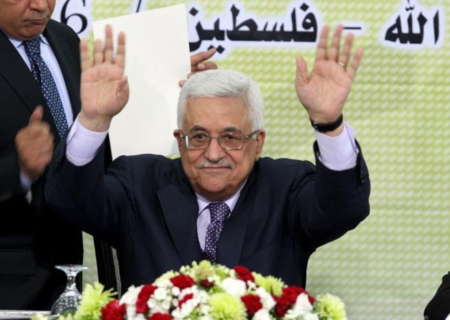 El presidente de la ANP, Abu Mazen, en una imagen de archivo