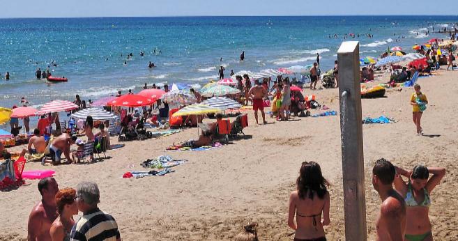 Playa de Les Amplàreies de Oropesa del Mar.
