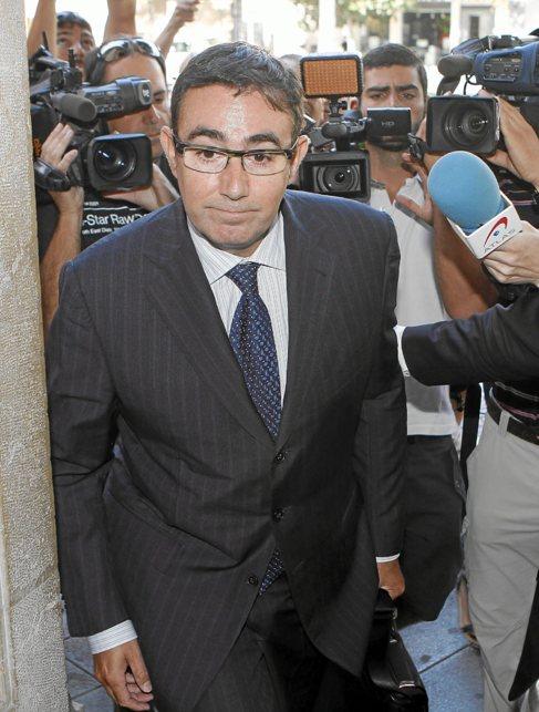 El ex socio de Iñaki Urdangarín, Diego Torres, en Palma en 2013.