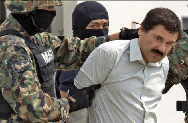'El Chapo' Guzmán durante su detención