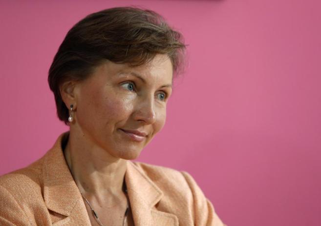 Marina Litvinenko, viuda del ex espía muerto, envenenado por polonio.