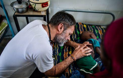 Jorge Muñoz, de la Fundación Ayuda al Chad.