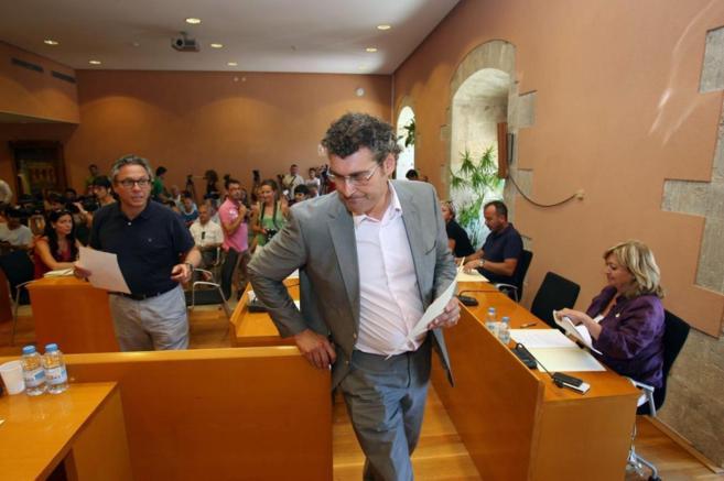 El alcalde de Torredembarra, Pere Font