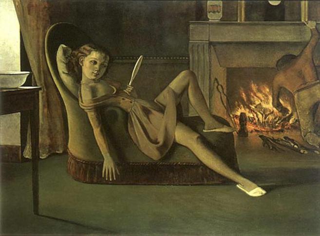 'La edad dorada', óleo pintado por Balthaus (Balthsar Klossowski)...