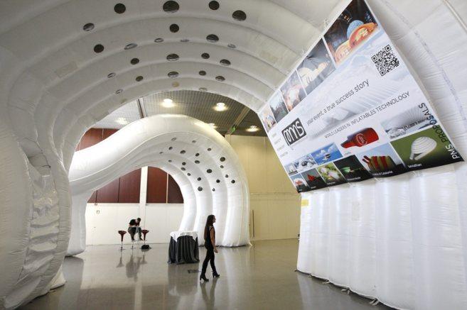Uno de los espacios del World Congress on Computational Mechanics.