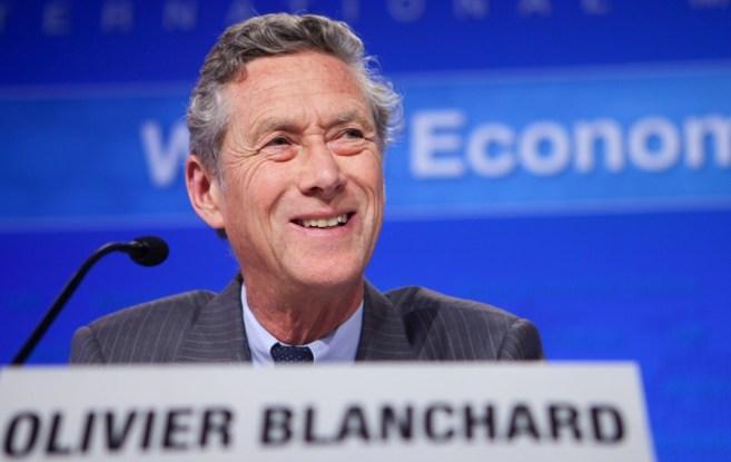Olivier Blanchard, economista jefe del organismo internacional.
