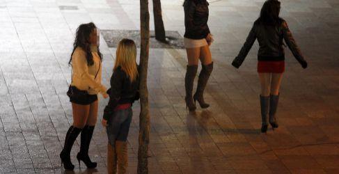 Prostitución en la calle.