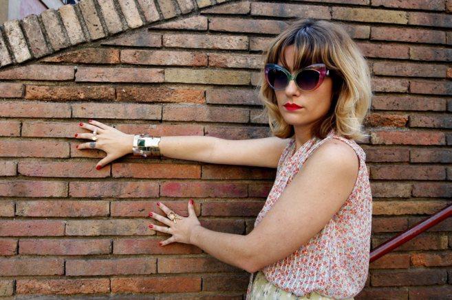 La diseñadora de joyas María Valls.