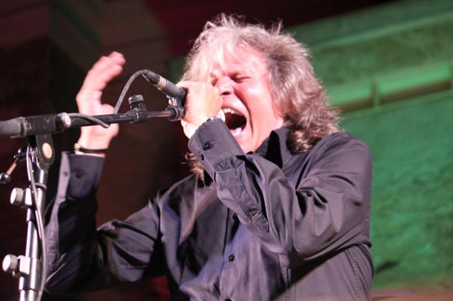 El cantaor jerezano José Mercé, durante su actuación en el festival...
