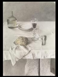 'Jarra y pan', de Antonio López.