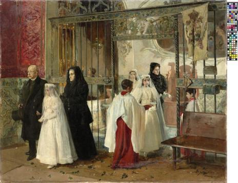 'Primera comunión', de Joaquín Sorolla.