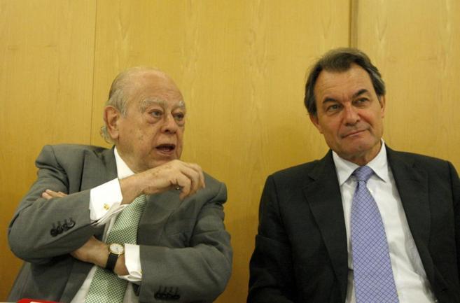 Jordi Pujol y Artur Mas, en una imagen reciente.