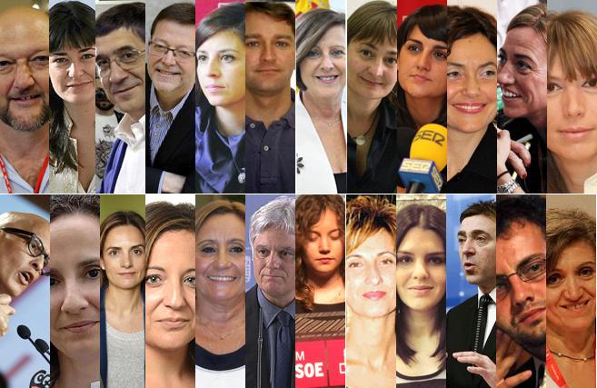 El PSOE de Pedro Sánchez