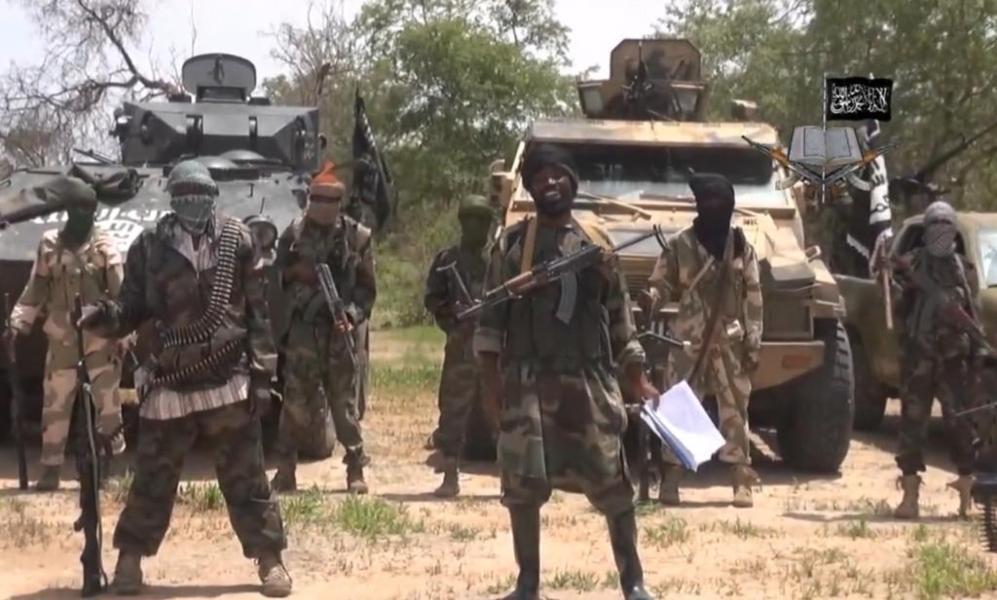 Fotograma de un vídeo grabado por Boko Haram en la que aparece su...