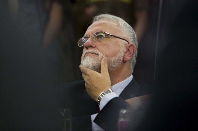 El presidente de las Cortes Valencianas, Juan Cotino.