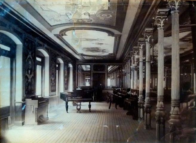 El salón Montano en torno a 1889. Ahora su lugar lo ocupa la tienda...