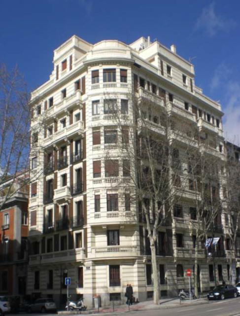 Edificio que albergará el exclusivo proyecto residencial en la calle...