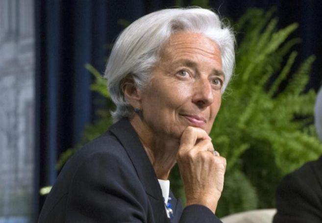 """Christine Lagarde, asiste a la conferencia inaugural """"Michel Camdessus..."""