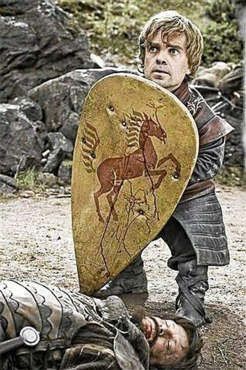 El actor Peter Dinklage, en el papel de  Tyrion Lannister.