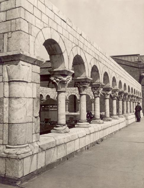 El claustro de Fort Tryon Park, en 1938