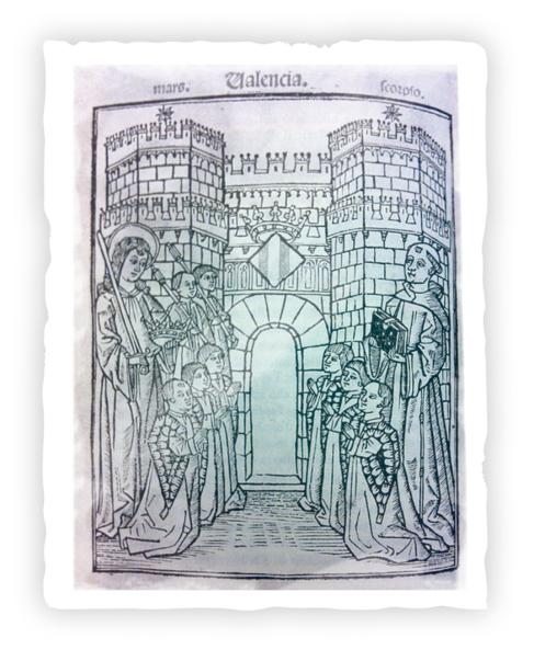 FRANCESC D'EIXIMENIS, 1383. Portada del incunable del...