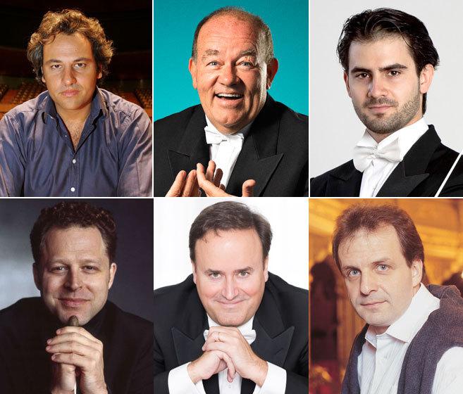 Pedro Halffter, Marc Soustrot, Giacomo Sagripanti, John Axelrod, Karl...