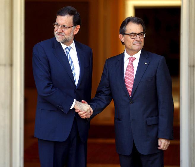 Artur Mas y Rajoy