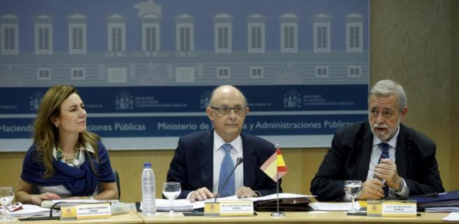 Reunión del Consejo de Política Fiscal y Financiera (CPFF) mantenida...