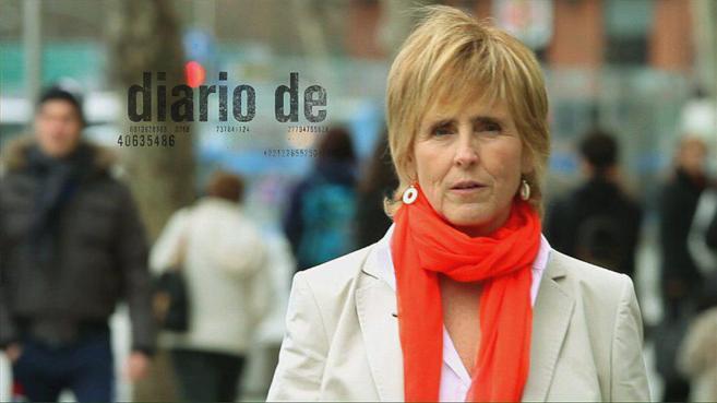 Mercedes Milá, en uno de sus programas de Telecinco.