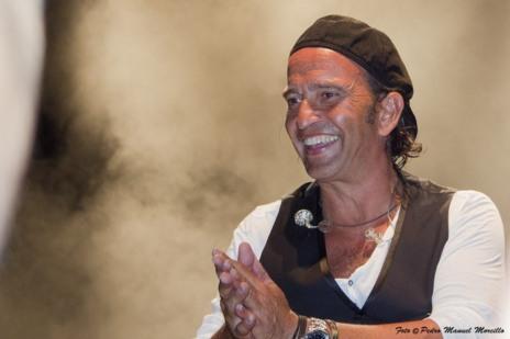 Álvaro Urquijo, vocalista de Los Secretos