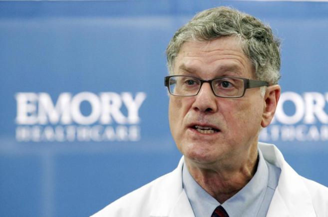 Bruce Ribner, profesor del Hospital Universitario de Emory de Atlanta.