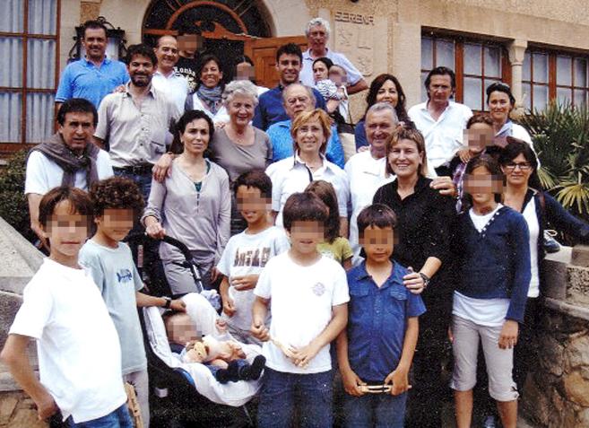 El ex 'president' Jordi Pujol y Marta Ferrusola, su esposa,...